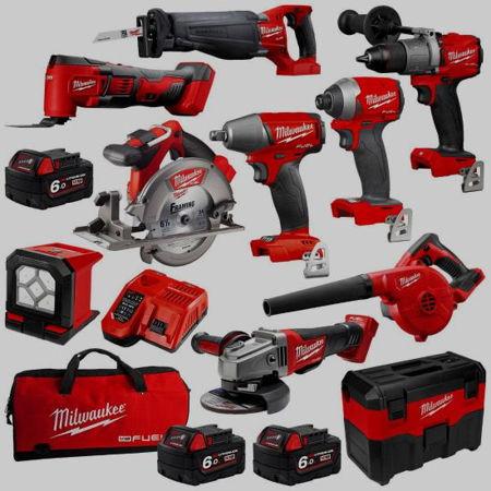Slika za kategorijo Milwaukee accu orodje 18V