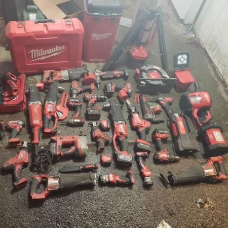 Slika za kategorijo Milwaukee električno orodje