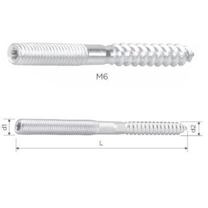 vijak-povezovalni-m6-70