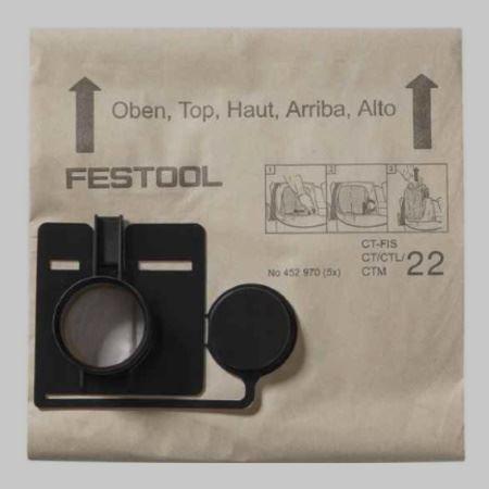 Slika za kategorijo FESTOOL filter vrečke