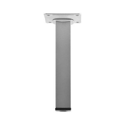 oglata-pohistvena-noga-25-x-25-mm-dolzina-100-mm-srebrna