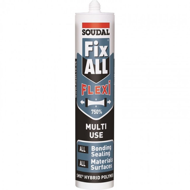 SOUDAL FIX ALL FLEXI ČRNA - 290 ml