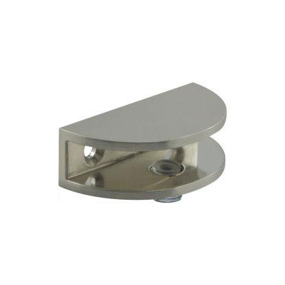 Pritrdilni nosilec steklene police D stekla 4-8 mm videz inoxa