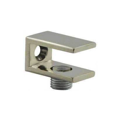 Pritrdilni nosilec steklene police D stekla 6-10 mm videz inoxa