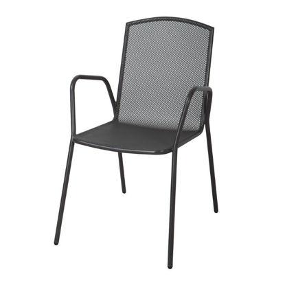 kovinski-stol-biva-barcelona-antracit