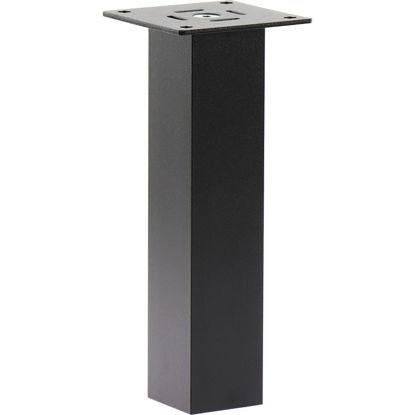 barska-konzola-capri-ravna-50-x-50-mm-visina-230-mm-aluminij-crn