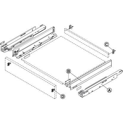 set-za-predal-blum-legrabox-pure-visina-n-blumotion-s-40kg-nl-400-orion-siva