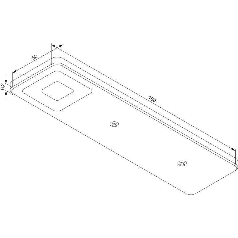 podvgradna-svetilka-roe-crna-3-delni-set-vklj-s-pretvornikom