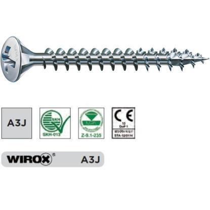 vijak-z-lecasto-gl-spax-40-x-16-celi-navoj-pozidriv-2-wirox-srebrno