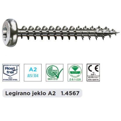 vijak-s-pokroz-gl-40-x-50-spax-celi-navoj-torx-20-inox-a2